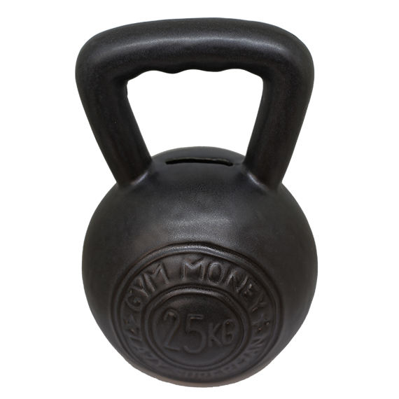 Lazy Superman - Skarbonka Kettlebell GYM MONEY