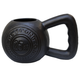 Lazy Superman - Kubek Kettlebell BE STRONG